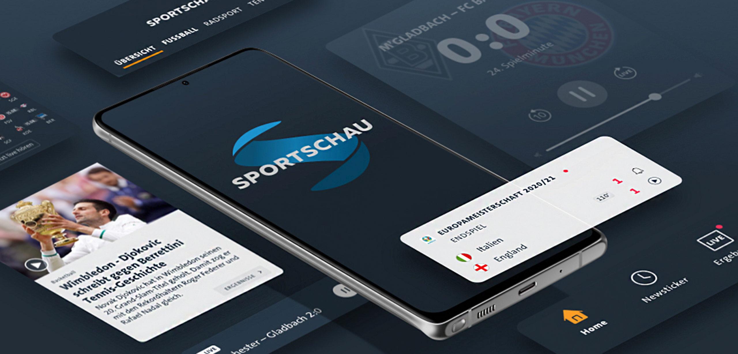 Neue Sportschau-App